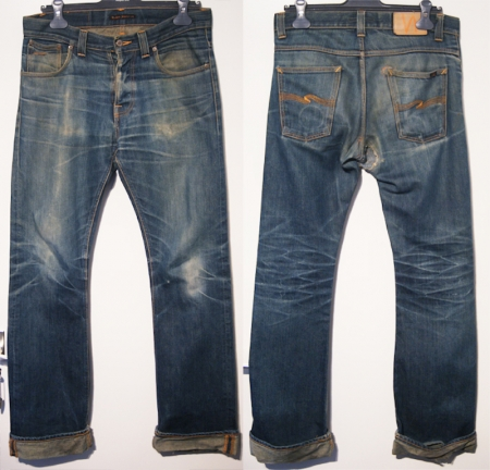Men Vintage Jeans Available In Different Washes