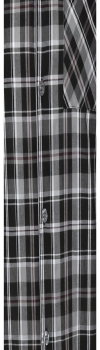Mens Pajamas Set Black Checks