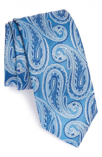 Mens Ties In Different Patterns Fabrics