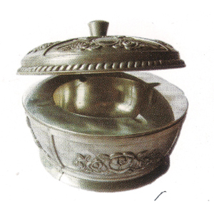 Metal Ashtray With Cover