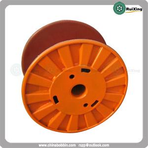 Metal Cable Puller Wire Drum Bobbin Custom Mild Steel Cord Spool
