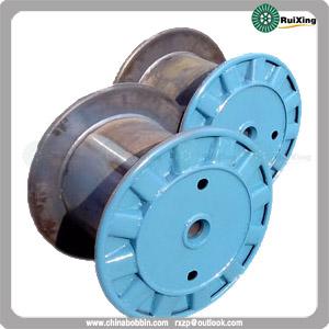 Metal Cable Puller Wire Drum Bobbin Custom Mild Steel Spool
