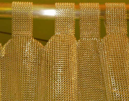 Metal Cloth Curtain A Shiniest Decorative In Your Room