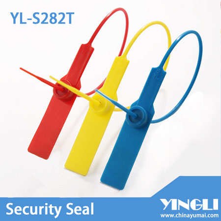 Metal Locking Plastic Security Seal Yl S282t