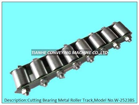Metal Roller Track Rail Wheel Conveyor