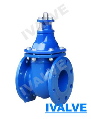 Metal Seated Gate Valve Cast Iron Vale Din3202 F4 F5 Bs5163 Awwa