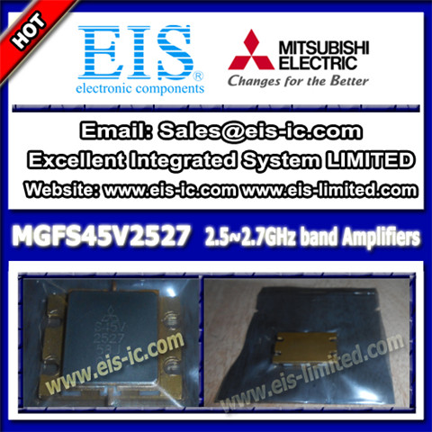 Mgfs45v2527 Mitsubishi Internally Matchd Gaas Fet