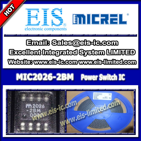 Mic2026 2bm Micrel Switch Ic Dual Channel Soic 8