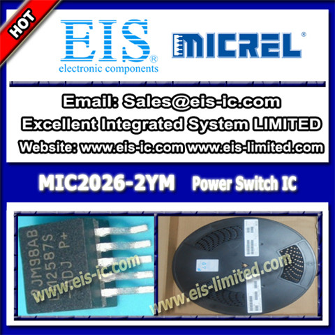 Mic2026 2ym Micrel Switch Ic Dual Channel Soic 8
