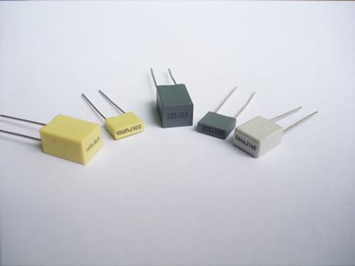 Micro Miniature Metallized Polyester Film Capacitor Box