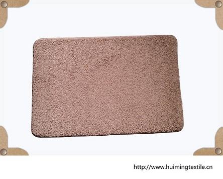 Microfiber Memory Foam Anti Slip Polyester Shaggy