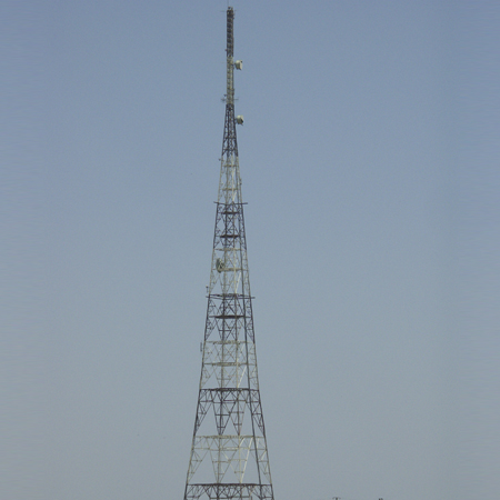 Microwave Steel Tower