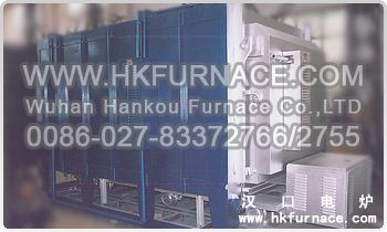 Mid Temperature Bogie Hearth Electric Furnace