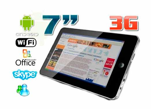 Miki Pad A749 Tablet Built In 3g