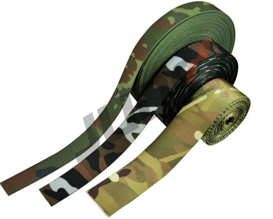 Military Camo Tubular Webbing