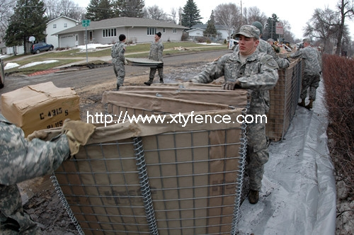 Military Retaining Wall Hesco Flood Barrier
