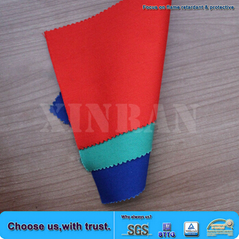 Miner Overall Fire Flame Retardant Dying Cn Textile