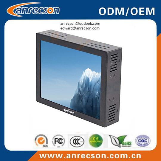 Mini 7 Inch Cctv Monitor With Vga Bnc Input