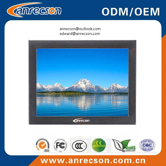 Mini 8 Inch Cctv Monitor With Metal Case