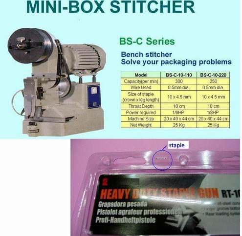 Mini Box Stitcher Electric Stapler