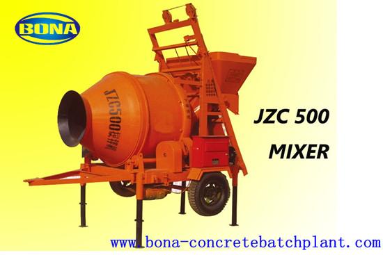 Mini Concrete Mixer Gravity Type Cement Mixing Machine Civil Used