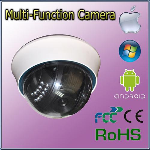 Mini Indoor Dome Security Wifi Ir Ip Network Camera
