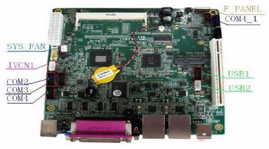 Mini Itx Intel D525 Motherboard 4xcom 2xwlan Warranty 18 Months