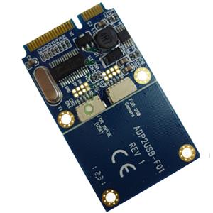 Mini Pcie To Dual Usb Adapter