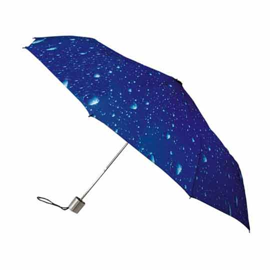 Minimax Compact Umbrella Raindrops