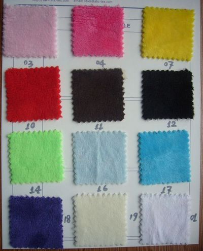 Minky Fabric On Spot 11 Colors Available