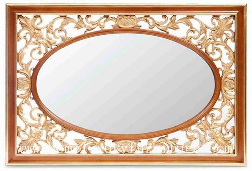 Mirror Wooden Frame Dressing Decoration Console Ag 302