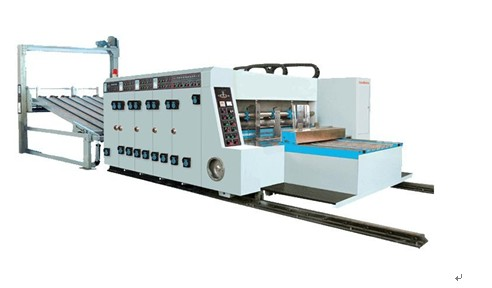 Mjbl 1 Series High Speed Corrugated Paperboard Flexo Printing Slotting And Stacking Machine Automati