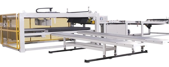 Mjdm 1 Automatic Basket Down Conveyor And Stacker