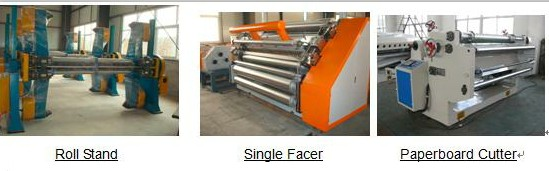Mjsgl 1 Single Facer Line 2 Layer Corrugated Paperboard Production