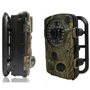 Mms Hunting Trail Camera With 42pcs Ir For Outdoor Animals Capture
