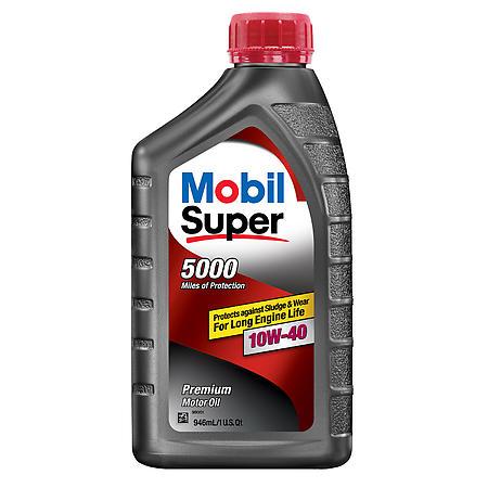 Mobil Super 10w40 12x1 Quarts