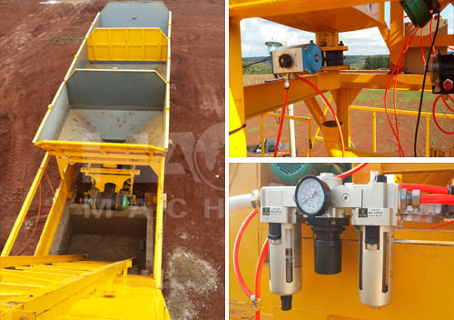 Mobile Concrete Batching Plant Best Price For Sale