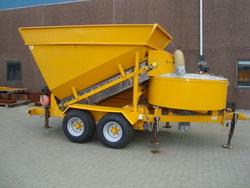 Mobile Concrete Fibo Intercon Plant B15 1200