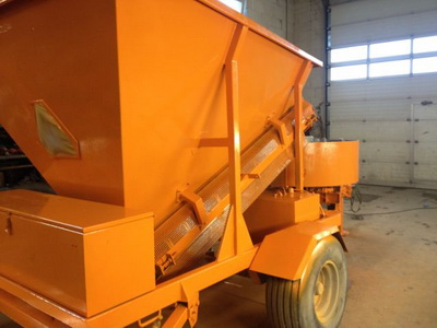 Mobile Concrete Plant Fibo Intercon 11 4 750