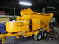Mobile Concrete Plant Fibo Intercon B15 1200 2002