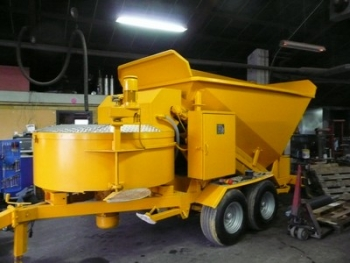 Mobile Concrete Plant Fibo Intercon B15 6 1200