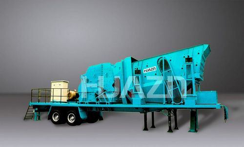 Mobile Crusher Cooperation With International Technology