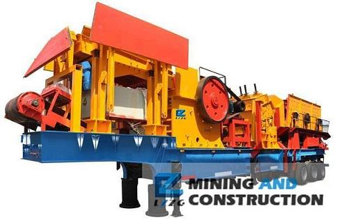 Mobile Crushing Plant Jaw Crusher Cone And Impact Crushers