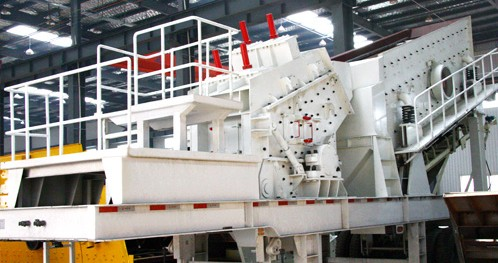 Mobile Crushing Station Repair Dressing Equipment