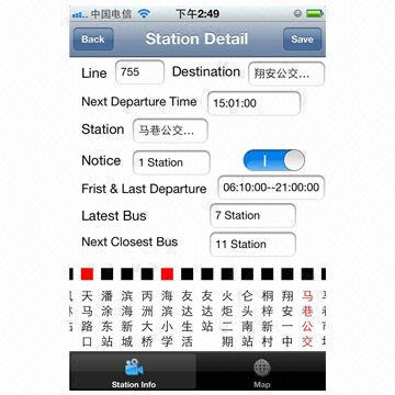 Mobile Passenger Information System Web Smartphone Application Look For The Bus View Timetables
