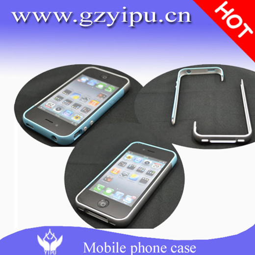 Mobile Phone Plastic Aluminum Bumper Edge For Iphone 4g S