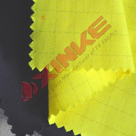 Modacrylic Flame Resistant Overall Fabric