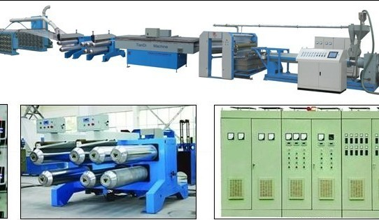 Model Sj105 1200 280 High Speed Extrusion And Stretching Machine