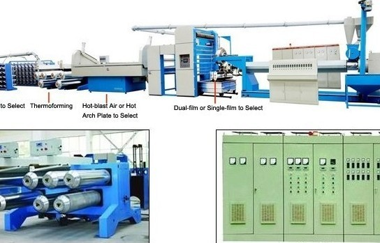 Model Sj150 1200 200 High Speed Extrusion And Stretching Machine