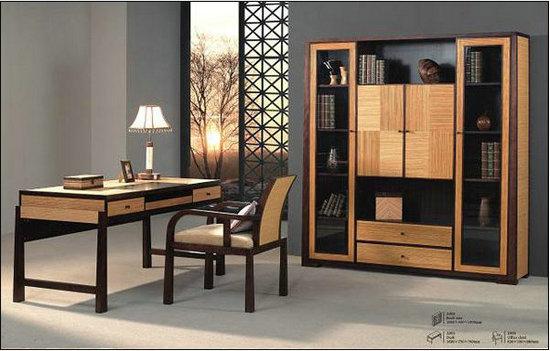 Modern Bamboo Bookshelf Formaldehyde Free